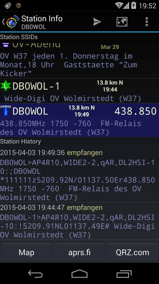 APRSdroid - APRS for Android